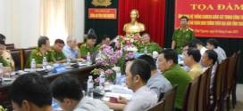Tọa đàm Ứng dụng HT camera giám sát trong công tác đảm bảo trật tự ATGT trên địa bàn Thái Nguyên